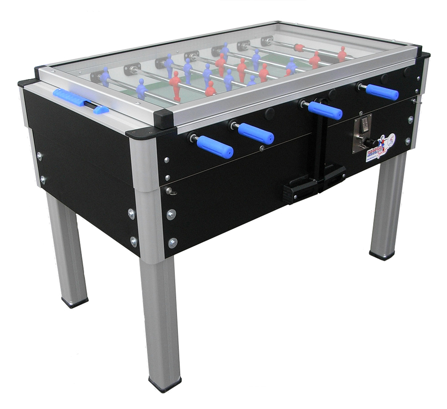 Attractive Glass Top Coin Operated Foosball Table Singapore